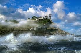 人间仙境 - 轻盈飘飘 - 小溪流水汇入海