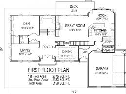 One Level House Plans With Basement 100 5 Bedroom 2 Story House Plans 2 Floor House Plans Best