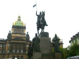 Statue of Saint Wenceslas, Wenceslas Square