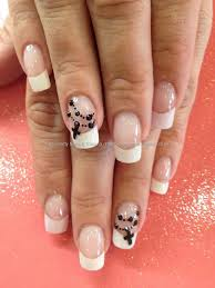 215 best nail art french tips images on pinterest make up