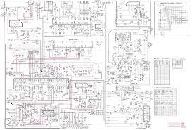 home theater circuit diagram lg cb20t20x crt tv u2013 schematic schematic diagrams
