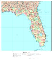 Miami Zip Codes Map by Florida Political Map