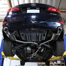 lexus is350 uk import j2 engineering dual tip catback exhaust system for 06 12 lexus