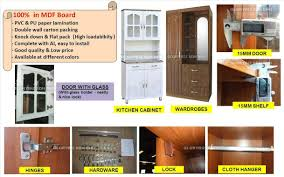 mdf board kitchen cabinet cupboard for home usage furniture with