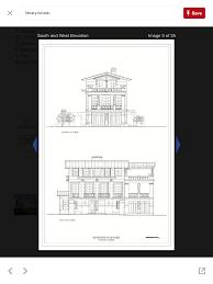 Laundromat Floor Plan Villa Necchi Front Elevation Original Drawing Fachadas