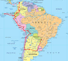 Map Of The New England States by Map Of South America U2013 Gone Gallivanting