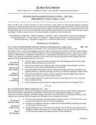 Examples For A Resume by Retail Executive Resume Example Executive Resume Resume