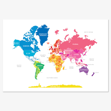 Kids World Map 5 Really Cool World Maps To Show Kids The World Kids Rooms