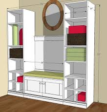 Plans To Build A Storage Bench by 16 Best Mud Room Tutorials Images On Pinterest Easy Diy Projects