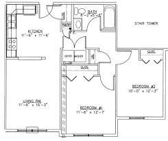 bedroom medium 2 bedroom apartments floor plan dark hardwood