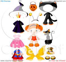 halloween characters clipart royalty free rf cat costume clipart illustrations vector