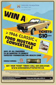 win a classic 1966 ford mustang convertible edmonds festival