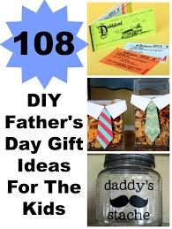 108 diy father u0027s day gift ideas for the kids lady and the blog