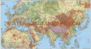 World Map Asia by Asia Map And Satellite Image New World Roundtripticket Me
