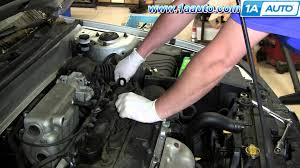 how to install replace spark plug ignition wires 2001 06 hyundai