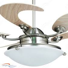 Dining Room Ceiling Fan by Vento Sole Retractable Bladed Ceiling Fan With Light Mahogany