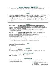 Nursing RN Resume Sample Alib