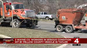 Halloween Usa Taylor Mi Wayne County Road Worker Dies After 2 Workers Hit By County