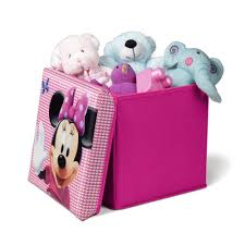 Minnie Mouse Toy Box Minnie Mouse Collapsible Ottoman Great Kidsbedrooms The