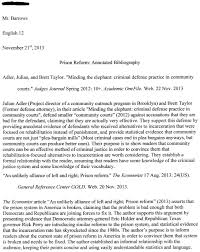 Free Free Sample Blank Mla Style Annotated Bibliography Template