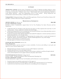 Customer Service Resume Skills Resume Summary Examples Administrative Assistant Resume For Your