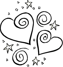 valentine coloring page heart valentine coloring pages of