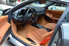 Ferrari 458 Italia Interior - 2012 ferrari 458 italia coupe cars grigio silverstone metallic