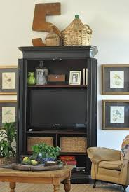 Best  Armoire Decorating Ideas On Pinterest Armoires Vintage - Dining room armoire