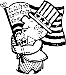 Free Printable Coloring Page...Happy 4th of July!, celebrate ... friendsacrossamerica.com