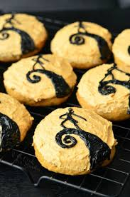 the nightmare before christmas pumpkin cookies will cook for smiles