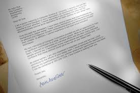 Example Of A Modified Block Style Business Letter by Block Format Cover Letter Template