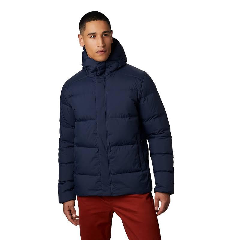 Mountain Hardwear Glacial Storm Jacket Dark Zinc Medium 1851321406-M