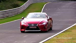 lexus lc500h sound 2018 lexus lc 500 sounds pretty good on the nurburgring