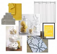 bathroom comely accessories for black and yellow bathroom