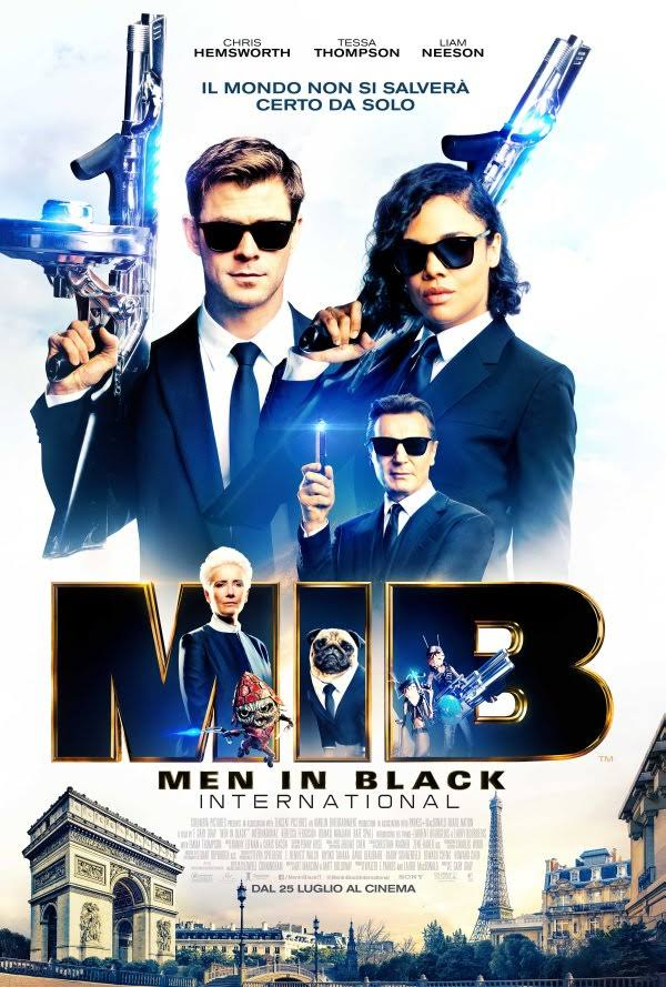 Locandina Men in black - International