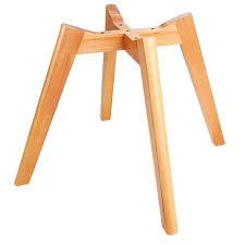 replica eames retro black u0026 beech designer chairs set of 4