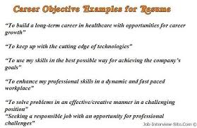 Examples For A Resume by Best 10 Career Objectives For Resume Ideas On Pinterest Career