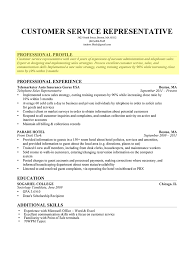 It Example Resume by How To Write A Professional Profile Resume Genius