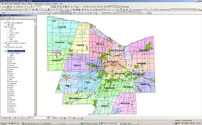 New York County Map by New York Gis Map New York Map