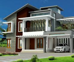 Large House Blueprints Big House With Modern Design Modern Home With Latest Exterior