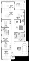 12 5m wide house plans u0026 designs perth vision one homes