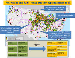Dca Map U S Dot Volpe Center Tool Evaluates Freight And Fuel Transport