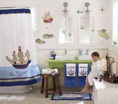 kids bathroom design with striped wall idea fancy bathroom