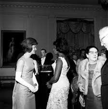 st 249 4 62 first lady jacqueline kennedy with opera singer grace