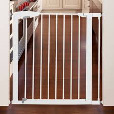 Pressure Mounted Baby Gate Gate Extension White