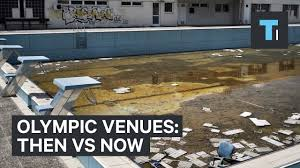 olympic venues then vs now youtube