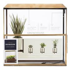 modern sprout hydroponic planters and indoor gardening kits