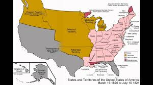 United States Map Delaware by United States Time Lapse Youtube