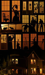 clipart of a window in a haunted house collection