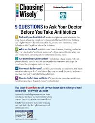 Free Printable Medical Power Of Attorney by File Choosing Wisely Antibiotics Poster Small English Pdf